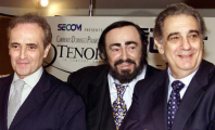 Image: Careras, Pavarotti, Domingo - Press conference for Yokohama 3 Tenors concert