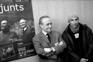 Image: Carreras & Llach at CD launch